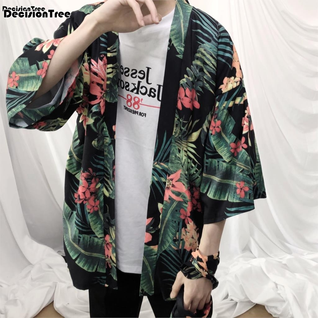a5e14f1b4 Σακάκια & παλτά 2019 summer mens kimono designer cool japanese clothes swag  male streetwear casual outwear jackets harajuku cardigan outwear