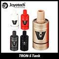 100% auténtico joyetech e-cig tanque tron-s evic atomizador recargable 4 ml para actualizado-vtc mini caja mod cigarrillo electrónico vape cartomizer