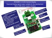 NEW 1PCS/LOT WCS2801 WCS 2801 0-1A DC current display meter