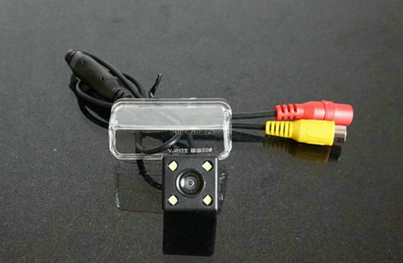 Analytisch Voor Peugeot 206 207 407 307 Achteruitrijcamera Met Parkeerplaats Lijn Waterdichte Nachtzicht 4led Ccd Back Up Camera