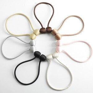 Image 3 - Neue Perle Magnetische Kugel Vorhang Einfache Krawatte Seil Rücken Holdbacks Schnalle Clips Zubehör Stangen Accessoires Haken Halter Home Decor
