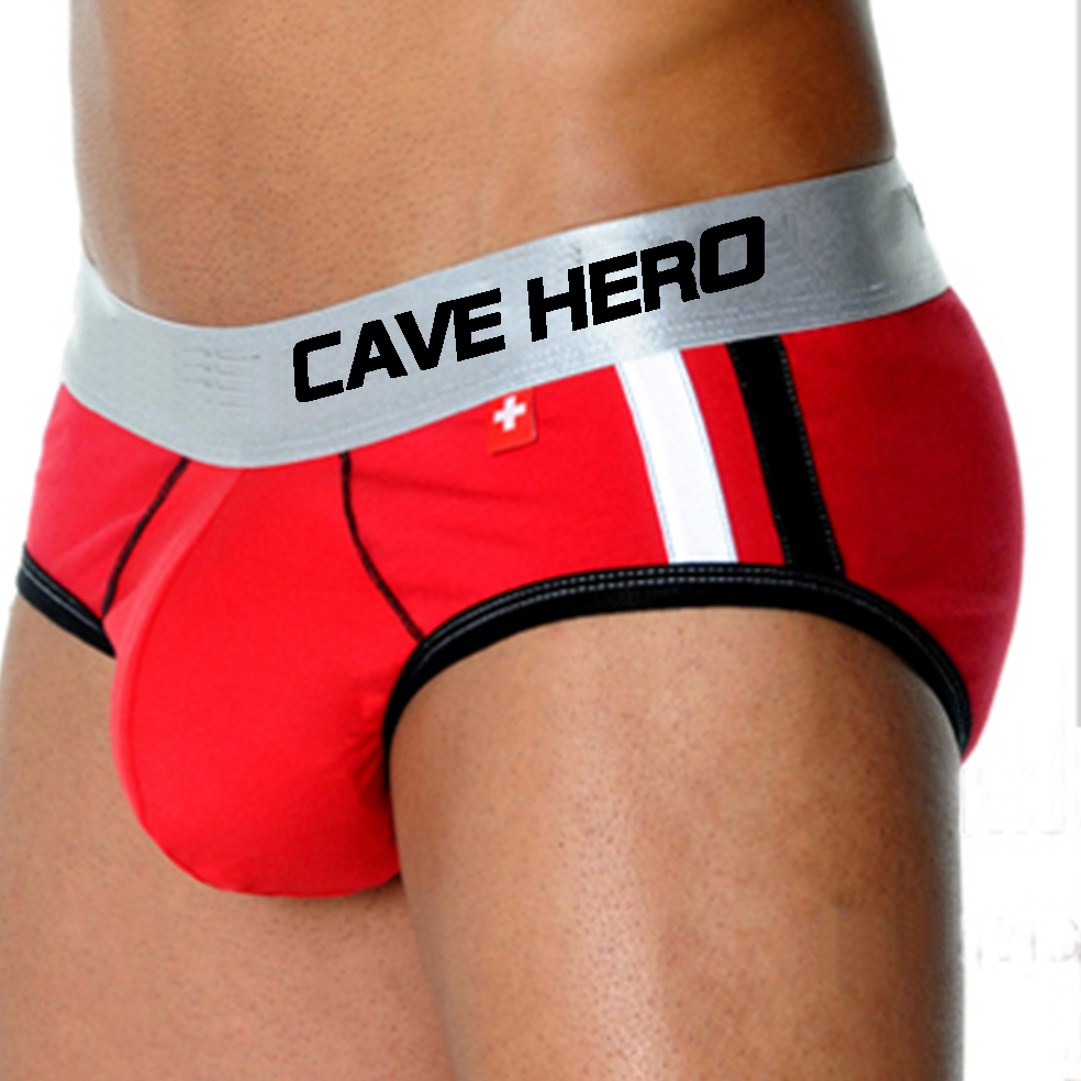 Briefs Men Pocket-Cup Andrew Push-Up Modal Christian Front Waistband Cueca Widen