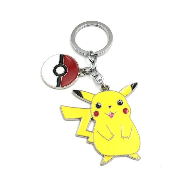 Groothandel game sleutelhanger mode cartoon pikachu pelt elf figuur  sleutelhangers voor kinderen geschenken jpg 640x640 Pikachu 03cba50b0552