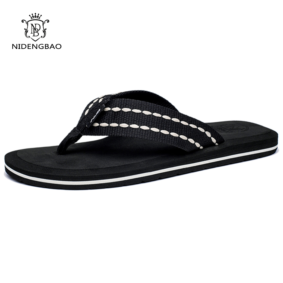 Lelaki flip flop Beach Sandals Men Shoes High Quality Summer Cool - Kasut lelaki