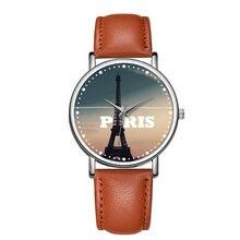 4249802627877 C-9012 BAOSAILI Casual Torre Eiffel Moda Unissex Relógio De Pulso Liga de  Prata Caso