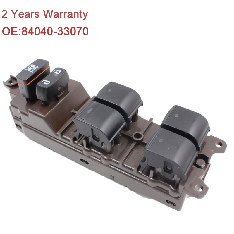 YAOPEI 84040 33070 8404033070 Power Window Switch Electric Window Master Switch for Lexus ES350 Prius
