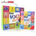 Toys infantil pano macio livro do bebê crianças educacionais toys para crianças/criança aprendendo palavras 0-6 anos de idade livros do bebê presentes