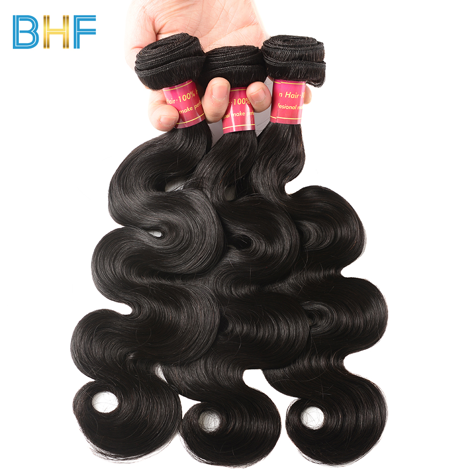 BHF Body Wave Malaysian Hair Weave Bundles Natural Color 3Pcs 100% Human Hair Weaving 8-30 Inch Malaysian Virgin Hair Extension ...