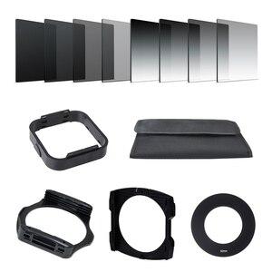 Image 1 - Фильтр адаптер для камеры с градиентом нейтральной плотности ND Square из смолы, держатель для колец, система Cokin P Series для SLR DSLR