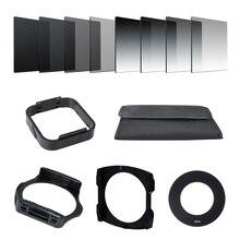 กล้อง Filtro Gradient Neutral Density Gradual ND เรซิ่นสแควร์ตัวกรองอะแดปเตอร์แหวนผู้ถือ Cokin P Series ระบบสำหรับ SLR DSLR