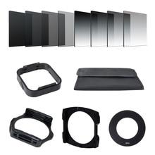 كاميرا Filtro التدرج محايد الكثافة التدريجي ND مربع الراتنج مرشحات محول خواتم حامل Cokin P سلسلة نظام ل SLR DSLR