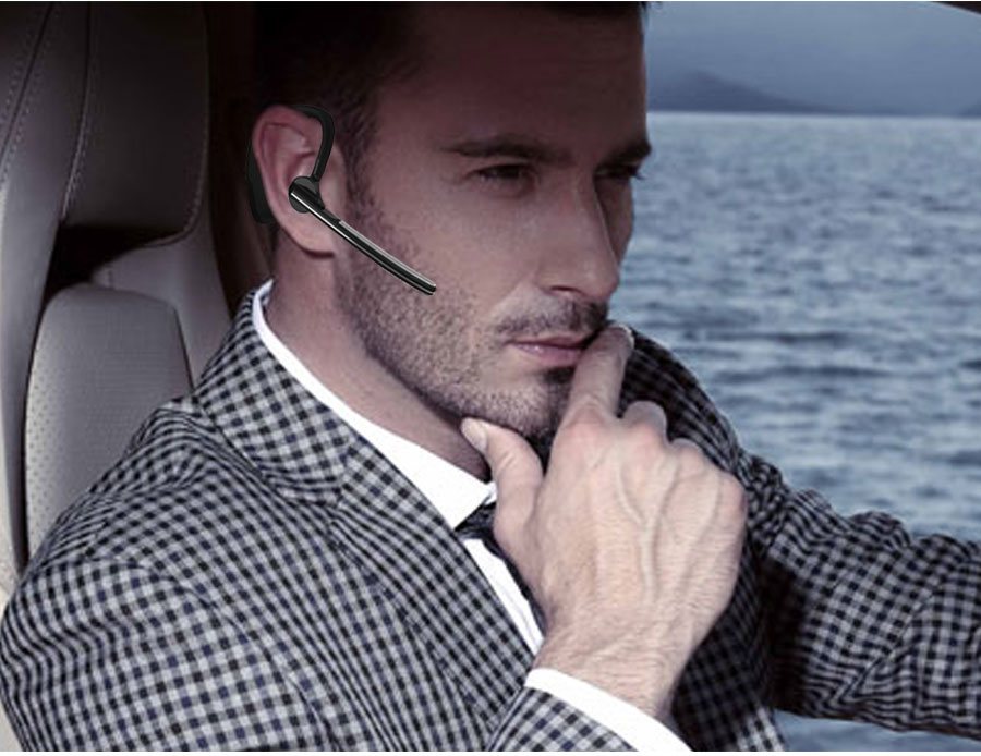 Business Bluetooth Earphone Wireless Handsfree Bluetooth V4.1 Headset With Microphone Headphone Voice For Iphone Sumsung Android_10