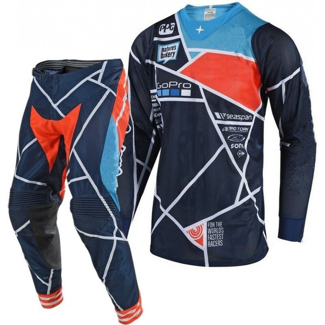 2019 SE AIR Motocross Suit Kit Off Road MTB DH MX Racing Jersey and Pants Motorcycle