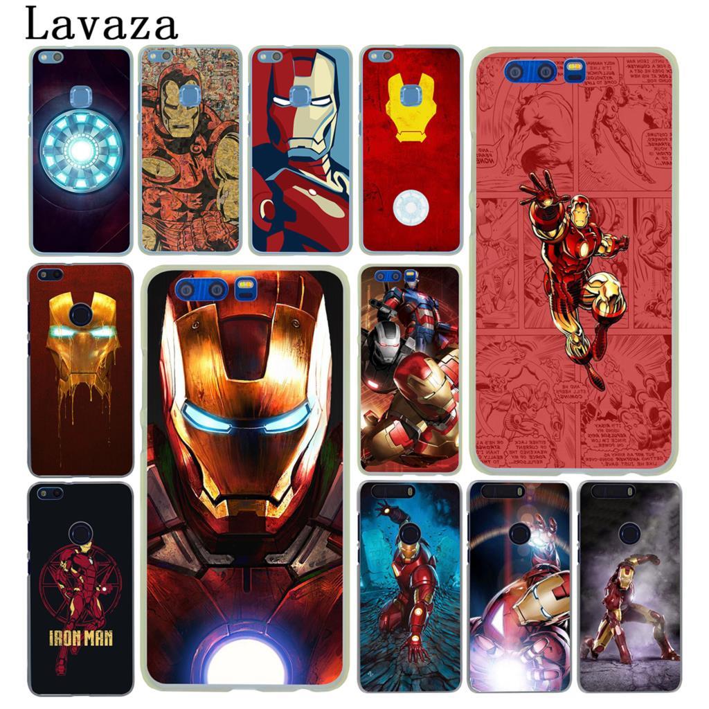 Lavaza Tony Stark Marvel Iron Man Hard Phone Case for Huawei Y6 Y5 Y3 II Y7 2017 G7 Honor 9 8 Lite 7 7X 6 6X 6A 4C 4X Cover