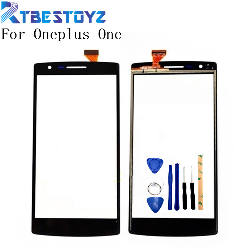 RTBESTOYZ Touch Screen Digitizer Glass Lens Sensor Replacement Parts For Oneplus One 1+ A0001 Mobile Phone Touch Panel+Tools