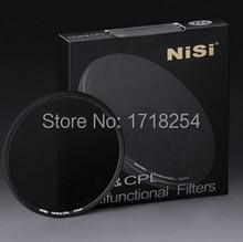Оригинальный ниси 67 мм сочетание ND8 и CPL 67 мм ультра тонкий объектив н . д . фильтр круговой поляризатор CPL + ND8 два в одном