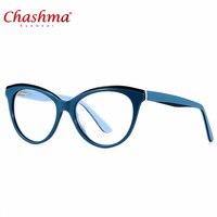 処方デザイナーブランド高品質アセテート眼鏡フレーム猫の目光学近視メガネメガネフレームoculos grau