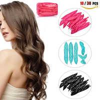Rouleaux à Cheveux DIY Rouleaux de Coiffure Outils Éponge Rouleaux Bigoudi Doux Rouleaux de Bigoudis