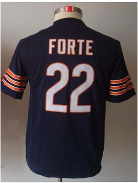 #22 Matt Forte Jersey,Kids/Youth Football Jersey,Best quality,Size S--XL,Accept Mix Order