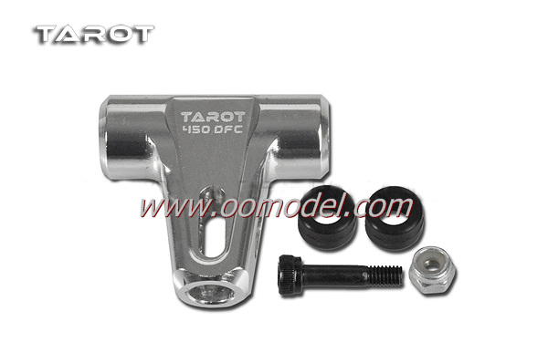 Tarot 450 DFC parts TL45163A Metal Main Rotor Housing Set White Tarot 450 RC Helicopter Spare Parts FreeTrack Shipping tarot rc helicopter parts metal swashplate leveler tool for trex 450 500 helicopter
