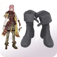 Cosplaydiy Game Lightning Returns Final Fantasy XIII Eclair Farron Cosplay Boots Final Fancy Cosplay Shoes L320