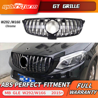 For W292 couple W166 sedan GT R AMG Grille Grill for mercedesBenz C292 GLE Class AMG 63 2015+ Car C292 grille