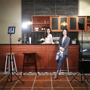 Image 5 - VILTROX VL 200 12.4 sans fil caméra Photo à distance vidéo Studio lumière LED bi couleur réglable + adaptateur dalimentation cc pour Canon Nikon