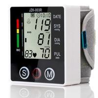 Health Care Automatic Wrist Blood Pressure Monitor Digital Sphgmomanometer LCD Screen Household Health Monitors