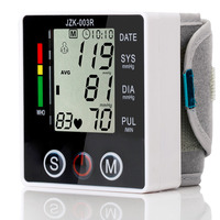 Health Care Automatic Wrist Blood Pressure Monitor Digital Sphgmomanometer LCD Screen Household Health Monitors