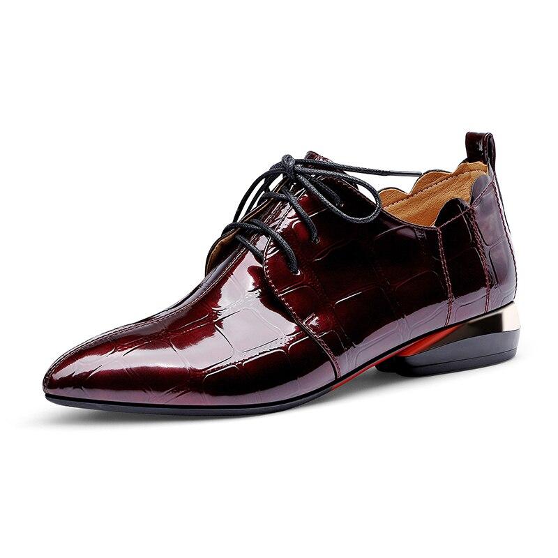 NASBAVI Women's Shoes Woman Pumps Low-Heels Classic Stylish Elegant Solid-Color Patent