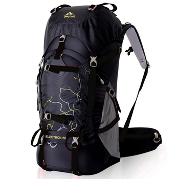FengTu 60L Hiking Backpack Daypack For Men And Women Waterproof Camping Traveling Backpack Outdoor Climbing Sports Bag 2