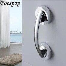 POSEPOP Strong Vacuum Sucker Suction Cup Handrail Bathroom Super Grip Safety Grab Bar Handle with for Glass Door Bathroom Elder
