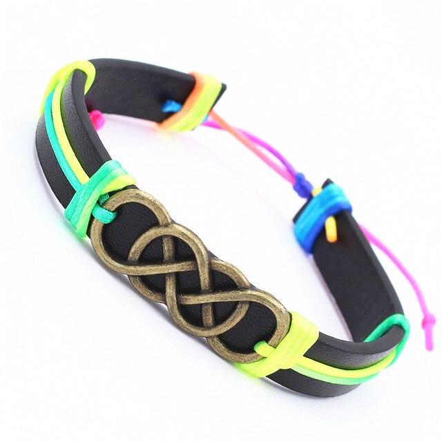 13 Colors Infinity Bracelet...