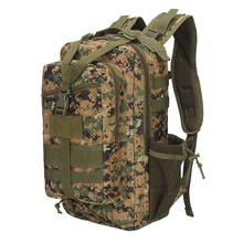 Travel backpack outdoor hiking army fan tactical bag US military equipment camping net pocket new 3P