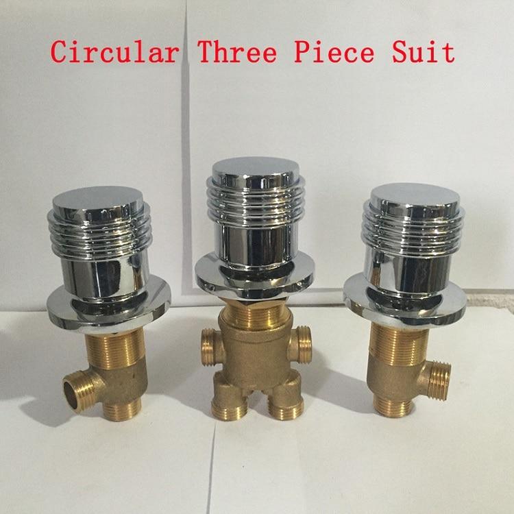 Aliexpress.com : Buy Circular Shower Room Mixing Valve