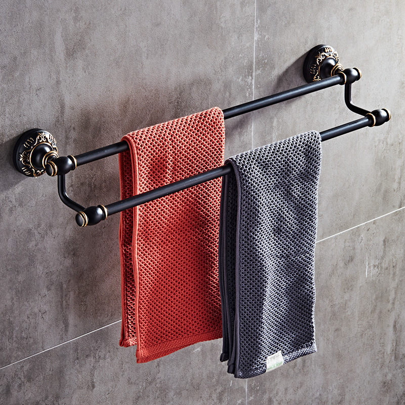 Bathroom Punch Free Metal Shelf Towel Bar Hardware Set Toilet Paper Holder Soap Holder Toothbrush Holder Toilet Brush Holder in Bath Hardware Sets from Home Improvement