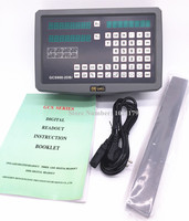 free shipping HXX GCS900 2 axis DRO digital readout for milling and lathe machine