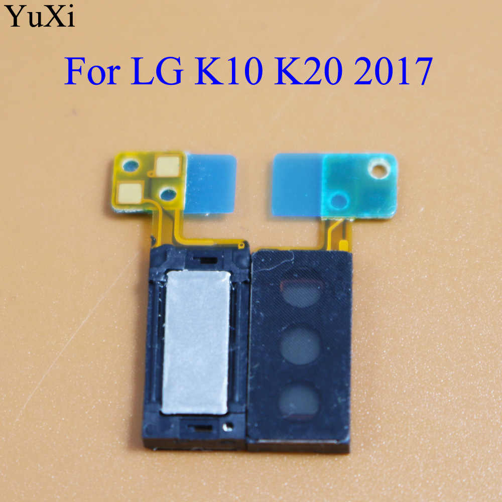 YuXi New Earpiece Speaker Sound earpiece Earphone Ear Piece Flex Cable  Replacement for LG K10 2017 X400 M250