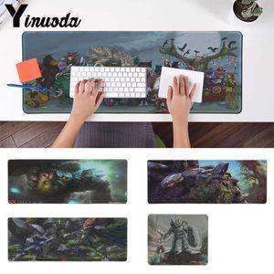 Yinuoda Non Slip PC Dota 2 małe naturalne gumowa podkładka pod mysz do gier podkład na biurko komputer stancjonarny na laptopa podkładka pod mysz dla graczy klawiatura Mat