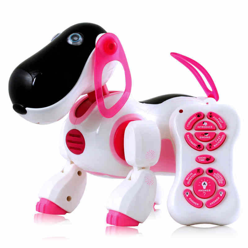 Smart Educational Toys Remote Electronic Dog Electric For Intelligent Robot Toy Ready-to-go Animal Model Student Gift Movie Tv child gift multifunctional high quality dog toy electric intelligent electric dot dog educational toy can be chased
