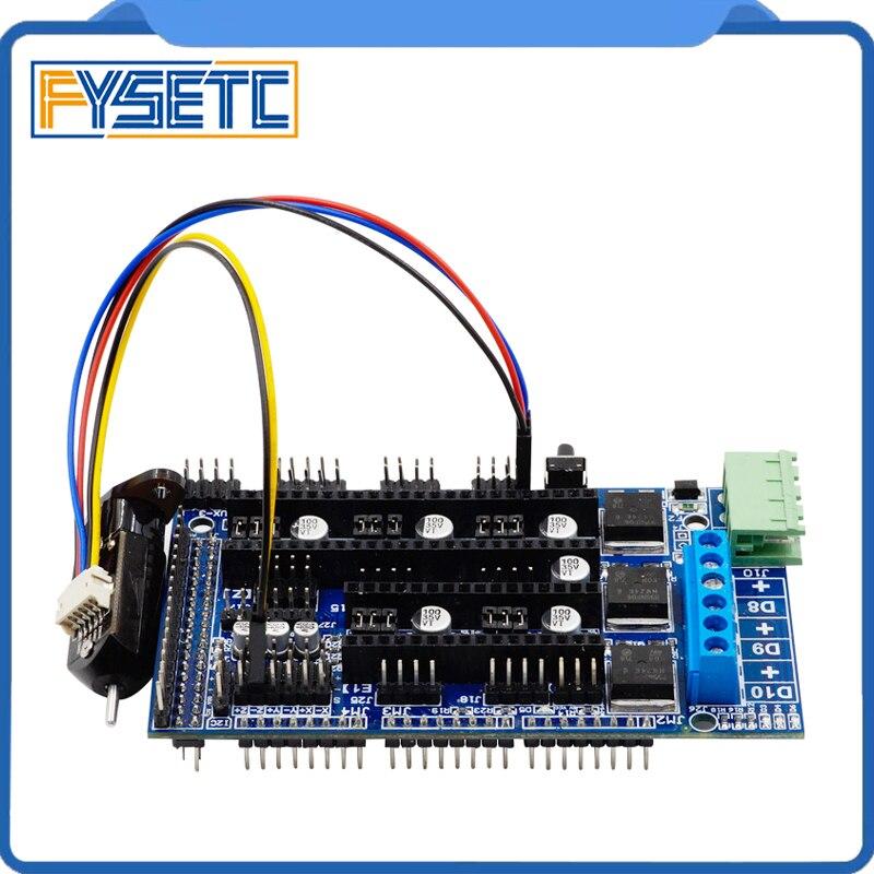 1 Set 3D Printer z-probe Touch Sensor Auto Leveling Sensors + Ramps1.5 Controller Panel For Ramps1.4 Anet A8 A6 Mendel Prusa цены