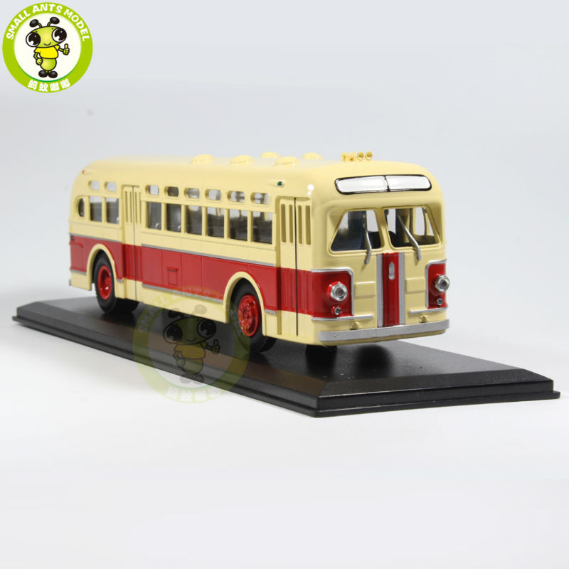 1/43 ZIS 154 ZIS-154 Bus Model USSR Soviet Union city bus ULTRA CLASSIC BUS MODEL Red knl hobby voyager model pea306 soviet union gaz aaa three axis truck with cross country track metal etching pieces