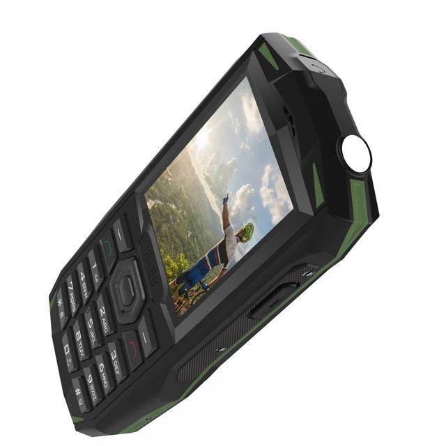 Blackview BV1000 IP68 Waterproof Shockproof Rugged Mobile Phone 2.4 inch MTK6261 3000mAh Dual SIM Mini Cell Phone Flashlight