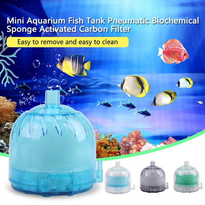 Fish Tank Fliter Aquarium Air Pump Filter Ultra Silent High Energy Saving Oxygen For Pumps