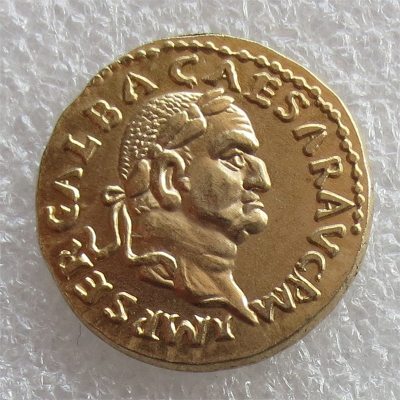 RM(16)wholesale Rome 68 Gold Plated Coins Copy FREE SHIPPING
