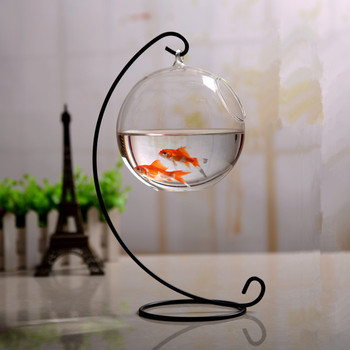 4sets/pack 33cm Metal Stand Diameter12cm Glass Aquarium Iron Support Glass Vase Home Decoration Birthday Gift Wedding Favor Gift