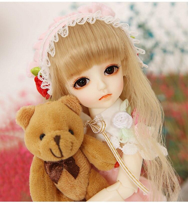 26 cm 6 points BJD poupée mignonne robe poupée pour cadeau d'anniversaire des enfants
