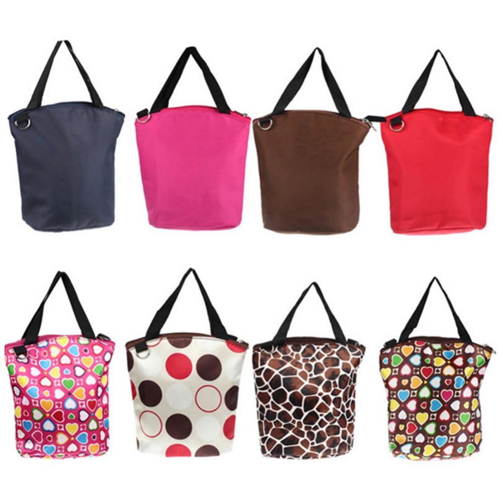 Four-use Multifunctional Insulated Nursing Bottle Bag Baby Milk Bottle Fruit Insulation Bag Waterproof Heat Preservation Breast