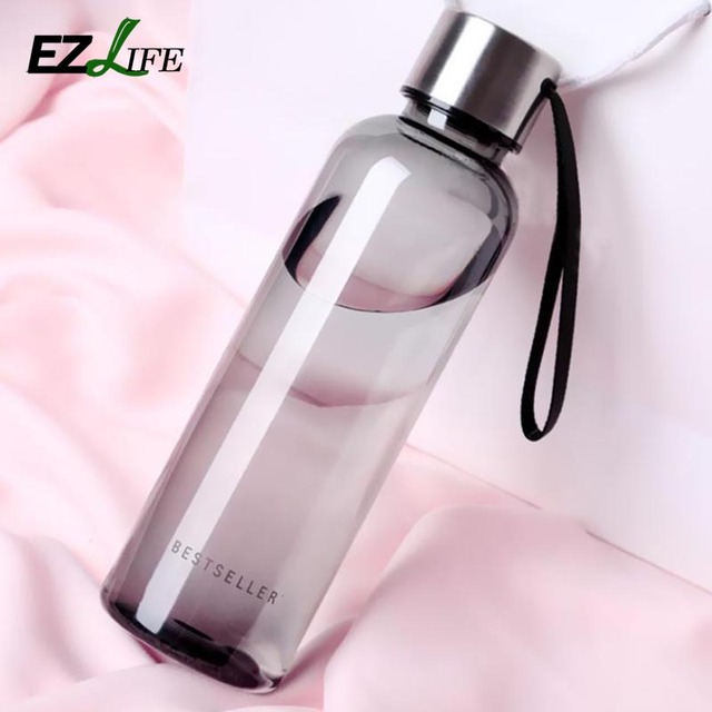 500ml Water Bottle With Stainless Steel Cover Sports Milk Juice Vegetable Water Bottle Portable Travel Water Bottle HD0147