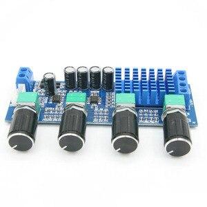 Image 3 - デュアルチャンネルステレオデジタルオーディオTPA3116D2 80ワット * 2高音低音調整プリセットプリアンプボードamplificador B4 003